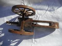 Large Wooden Model of a Cannon (4 of 5)
