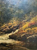 H Sinclair Jackson Superb 19th Century Watermill Landscape Oil Painting (6 of 14)
