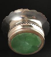 Georgian Silver Plated Deep Bottle Coaster (3 of 4)