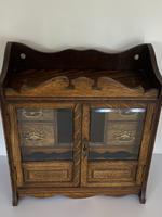 Quality Antique Oak Smokers Cabinet (6 of 6)