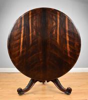 Victorian Rosewood Circular Breakfast Table
