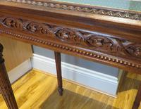 Superb Hand Carved Solid Mahogany Bijouterie Vitrine (9 of 9)