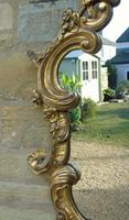 Good Antique Giltwood Rococo Mirror (6 of 7)