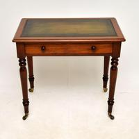 Antique  Victorian Mahogany Writing Table / Desk (2 of 10)