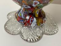 2 Beautiful Italian Murano Fratelli & Torso Millefiori Glass Vases (5 of 34)