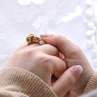 The Etruscan Form Aries Rams Head Ring (5 of 5)