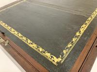Antique Mahogany Brass Bound Campaign Writing Slope Box (8 of 17)