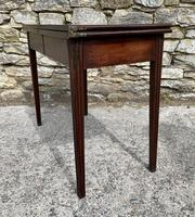 Antique Georgian Mahogany Fold Over Tea Table (27 of 27)