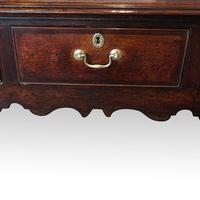 George III Country Oak Dresser Base (7 of 9)