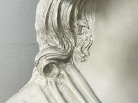 French Classical Young Lady Wearing Bonnet Wall Sculpture (20 of 20)