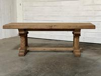 Extremely Rare Large Oak Refectory Table (24 of 35)