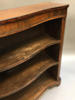 Early Victorian Rosewood Bookcase (8 of 11)