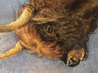 Victorian Scottish Highland Painting of Cattle by Aster Richard Chilton Corbould (25 of 40)