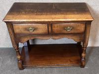 Titchmarsh & Goodwin Small Oak Dresser Base (4 of 8)