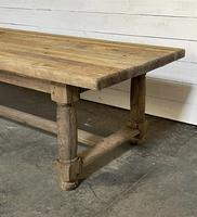 Rare Large & Deep Oak Farmhouse Dining Table (5 of 31)