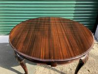Antique Mahogany 8Ft Wind Out Extending Dining Table (3 of 14)