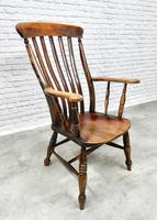 Large Windsor Lathback Armchair (3 of 6)