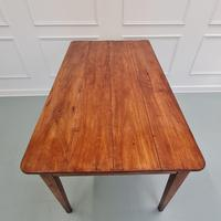 Charming Antique French Cherry Farmhouse Table c.1850 (9 of 9)