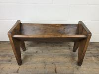 Early 20th Century Wooden Book Trough (2 of 8)