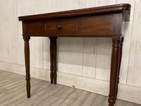 Victorian Fold Over Tea Table (4 of 7)
