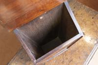 Antique Mahogany Inlaid Candle Box (3 of 4)