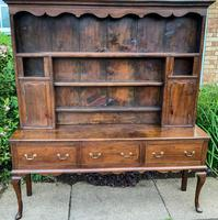 Georgian Oak Dresser c 1760