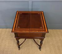 """Inlaid Mahogany """"Surprise"""" Drinks Table (9 of 15)"""