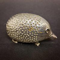 Edwardian Silver Hedgehog Pin Cushion (2 of 6)