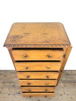 Large Victorian Oak Wellington Chest of Drawers by Shoolbred (4 of 13)