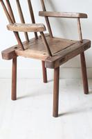 19th Century Irish 'Country / Vernacular' Hedge Chair from Co. Antrim (10 of 45)