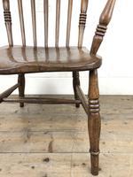 Antique 19th Century Beech & Elm Windsor Armchair (8 of 13)