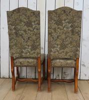 Set of Six Oak Os De Mouton Dining Chairs (5 of 9)