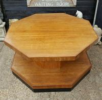Superb Art Deco Walnut Centre Table (2 of 4)