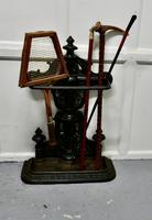 Large Cast Iron Umbrella Stick  Stand (5 of 8)