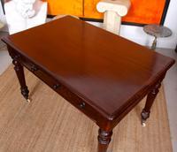 Desk Writing Table Mahogany 19th Century Victorian (6 of 11)