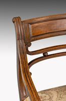 Set of Seven Regency Period Mahogany Framed Chairs (5 of 5)