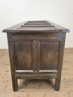 Antique Oak Blanket Box (11 of 13)