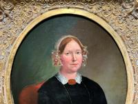 Fine Large Period 19th Century half-length Oil Portrait Painting of a Victorian Lady (3 of 12)