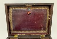 Antique Victorian Rosewood Vanity Jewellery Box (12 of 16)