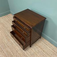 Edwardian Mahogany Small Antique Chest of Drawers (5 of 6)
