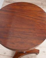 Mahogany Pedestal Lamp Table (3 of 5)