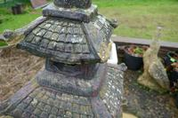 Weather Worn Tall Cast Pagoda Garden Ornament (8 of 8)
