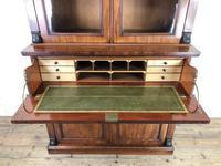 Victorian Mahogany Secretaire Bookcase (6 of 12)
