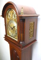 Antique Grandmother Clock 8 Gong Musical Longcase Clock with Dual Chimes by W&H c.1880 (9 of 15)