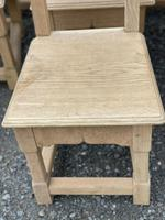 Set 8 Oak Farmhouse Dining Chairs (10 of 14)