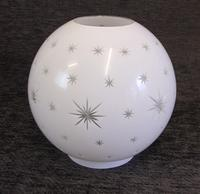 Antique Opaque Oil Lamp Shade / Globe (2 of 4)