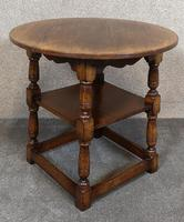 Titchmarsh & Goodwin English Oak Tavern Table / Occasional Table RL87 (9 of 10)