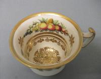 Swansea London Shape Coffee Cup & Saucer c.1815 (7 of 11)