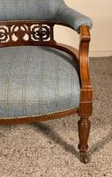 Scottish Armchair In Mahogany Called Tub Chair 19th Century (3 of 7)