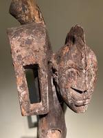 Rare & Old Two Faced Mumuye Sukuru Shoulder Mask (6 of 8)